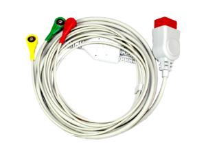 Kardiologia i spirometria. Medical-econet 3-przewodowy kabel dla C7 i C9.