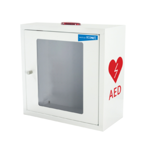 Ratownictwo medyczne. Medical-econet skrzynka ścienna AED dla ME PAD.